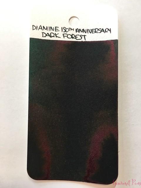 Ink Shot Review Diamine Anniversary Dark Forest @AppelboomLaren 11