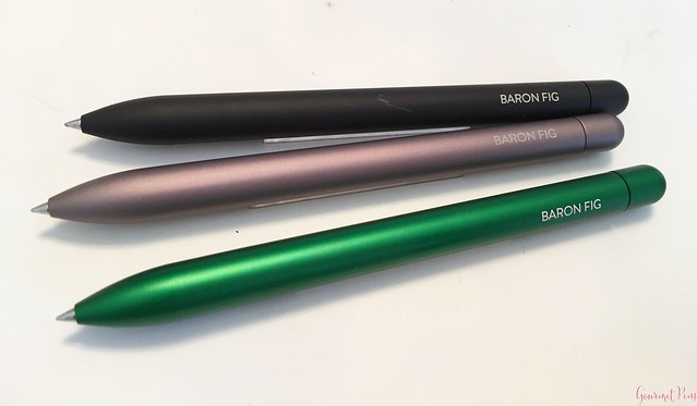 Review @BaronFig Experiment Rollerball Pen 4