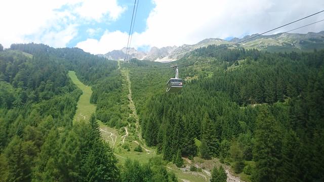 Cable Car hacia Seegrube