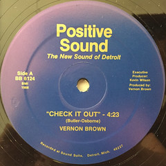 VERNON BROWN:CHECK IT OUT(LABEL SIDE-A)