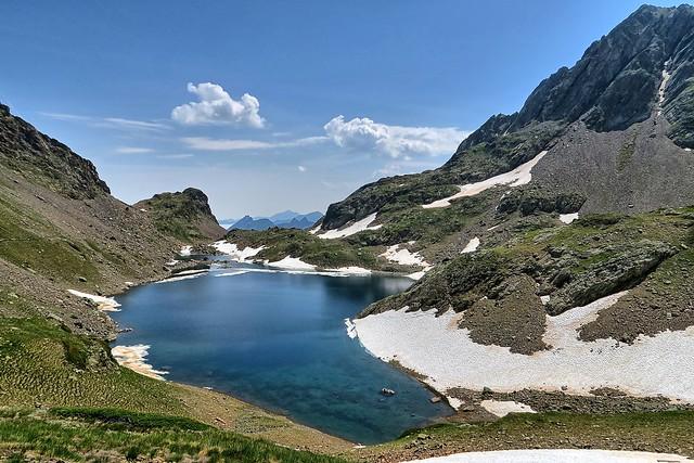 Lac de Pouey La, Canon POWERSHOT G5 X