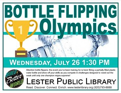 Bottle Flipping Olympics