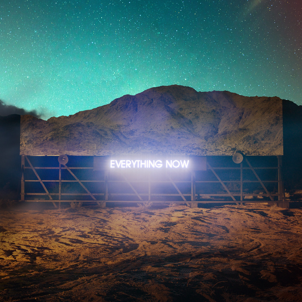 3 - Arcade Fire - EVERYTHING NOW - Night Cover