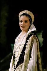 Ritratto di dama della Festa delle Camelie di Velletri