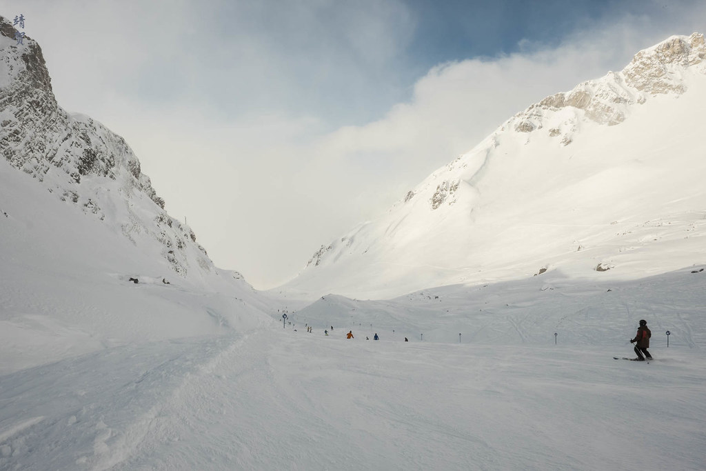 On Valfagehr piste