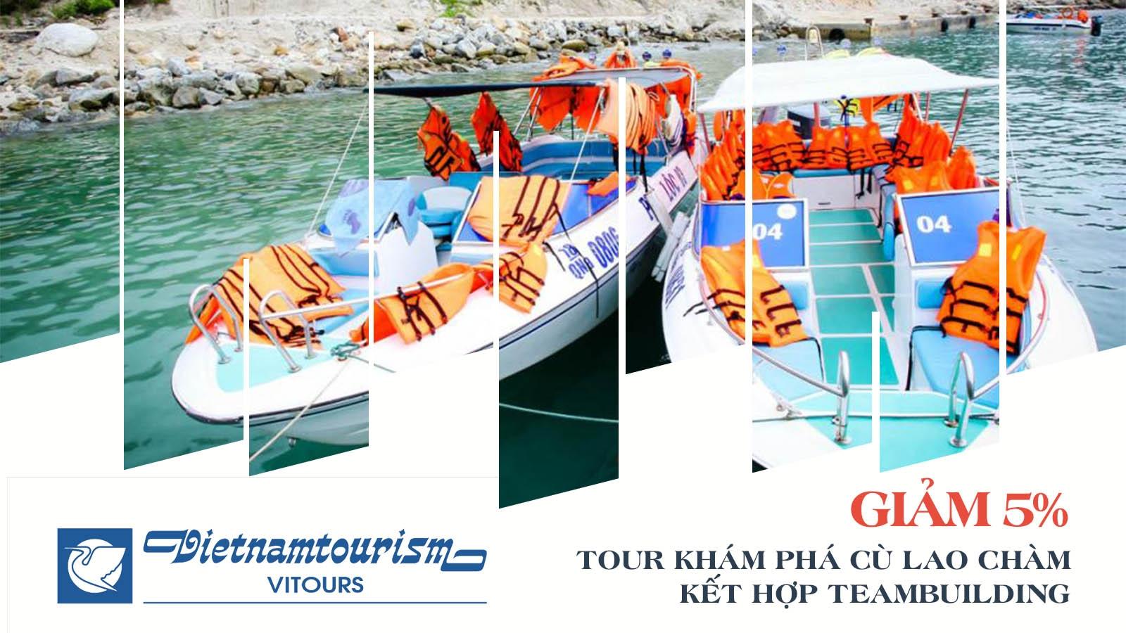 Vitours   Giảm 5% Tour khám phá Cù Lao Chàm kết hợp team building 1