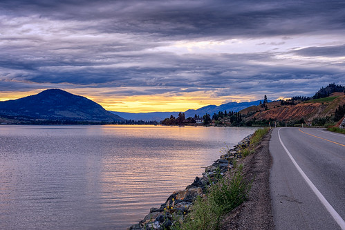 penticton britishcolumbia canada ca day170 365 365project project365 redditphotoproject picoftheday okanagan okanaganphotographer okanaganfalls beautifulbc hellobc visitbc awesomeearthpix landscapelovers landscapes road lake skahalake sunset clouds naturelovers naturelover beautifuldestinations awesomeglobe fantasticearth earthpix
