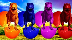 Learn Colors With Dinosaur Surprise Egg for Children | Educational Videos for Children | Toddlers