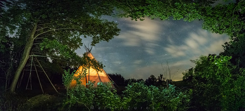 Tepee night - the Cowboy view