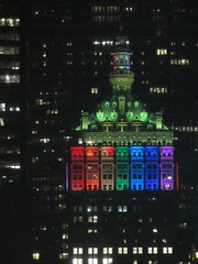 Rainbow Pride The Helmsley Building 7824