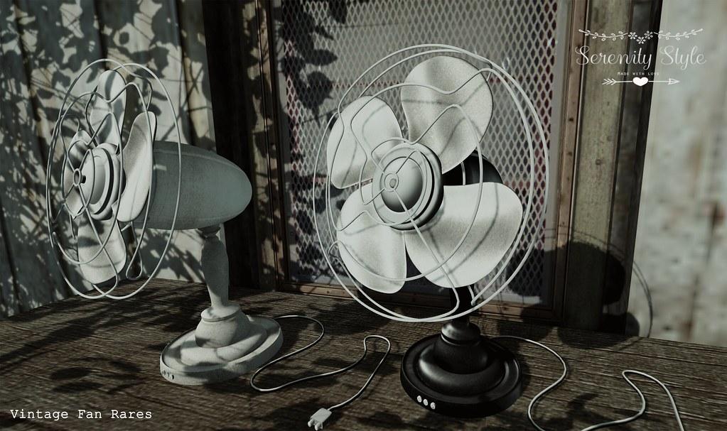 Serenity Style- Vintage Fan Rares Adv. - SecondLifeHub.com