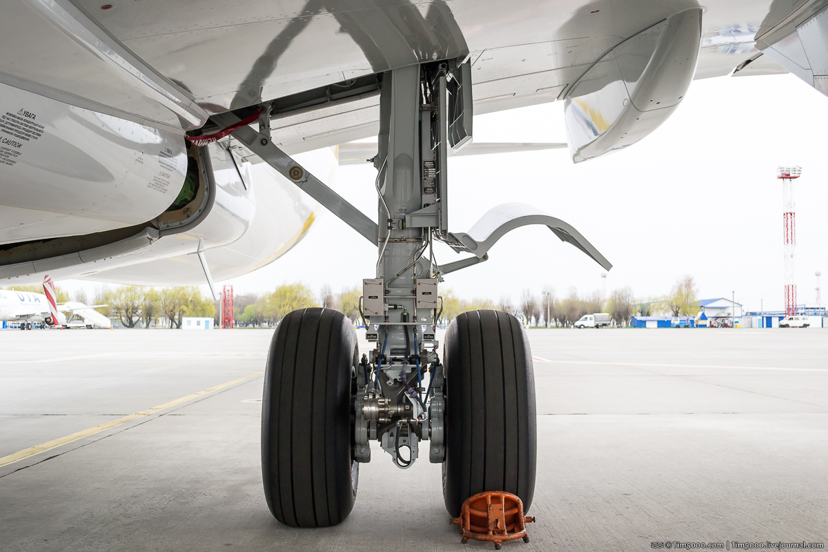 Основная стойка шасси Boeing 737-800NG MАУ