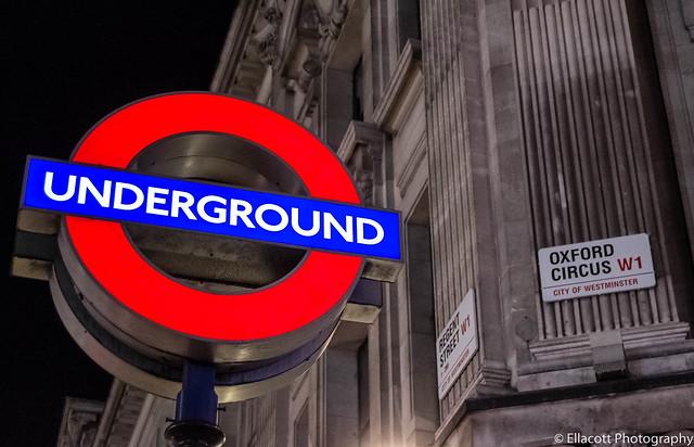 Oxford Circus London Underground Station