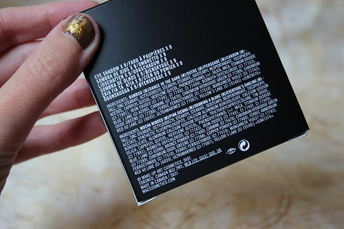 ingredients - M.A.C, eye shadow x 9 in Semi Sweet