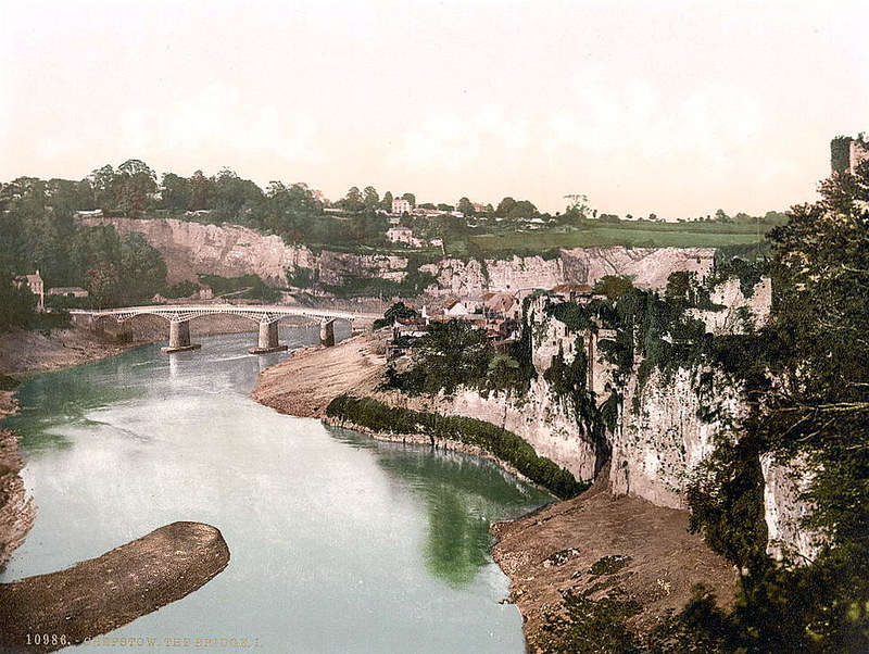 The bridge, Chepstow