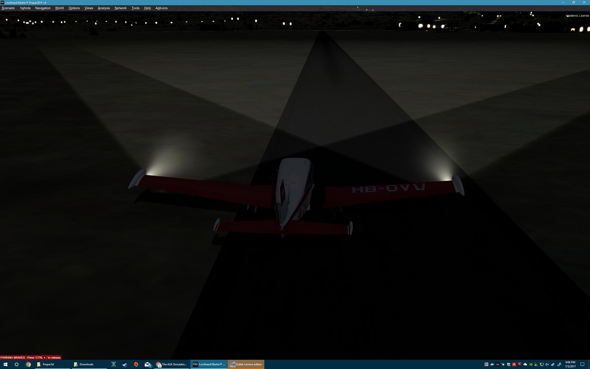 P3D v4 Comanche configurator has no landing lights - The A2A