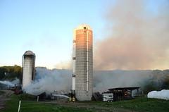 Mount Pleasant Barn Fire