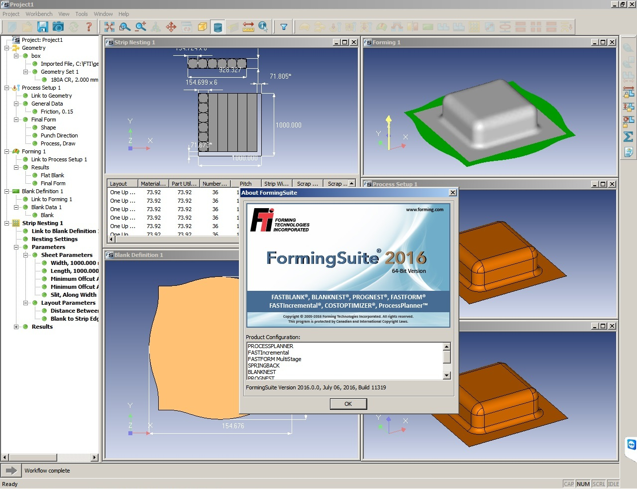Working with FTI FormingSuite 2016.0.0 build 11319 full