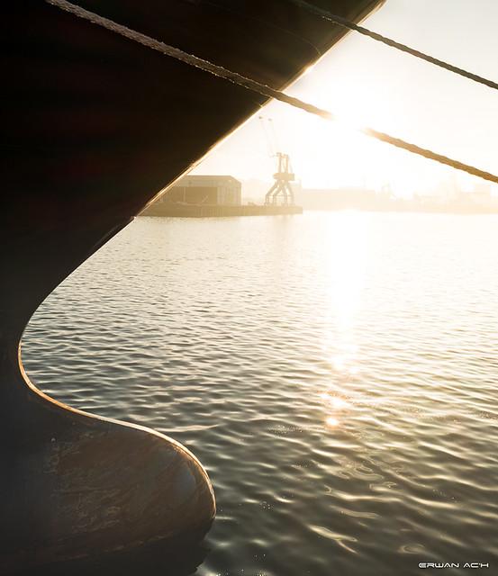 Matin au port de Brest