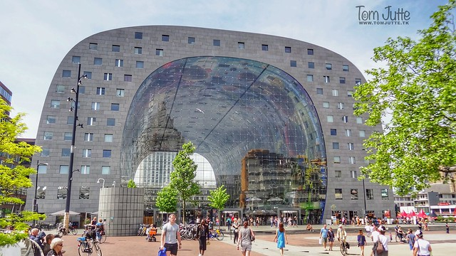 Markthal, Binnenrotte, Rotterdam, Netherlands - 5152