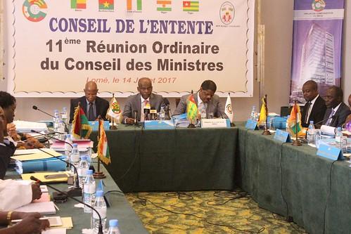 11e Réunion Ordinaire du Conseil des Ministres du Conseil de l'Entente