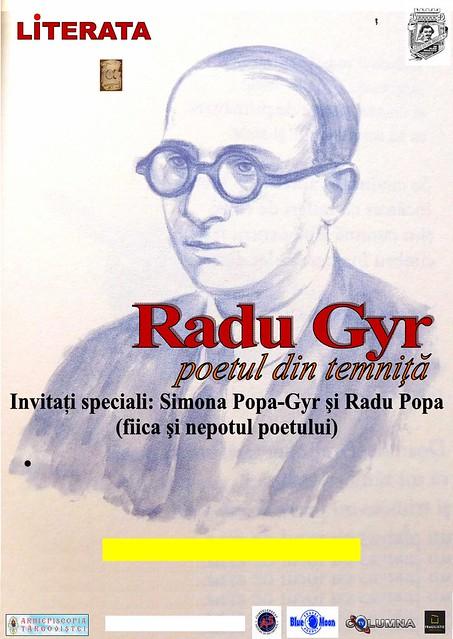 """Conferința """"Radu Gyr - Poetul din temniță"""", la Biblioteca Judeţeană """"I. H. Rădulescu"""""""
