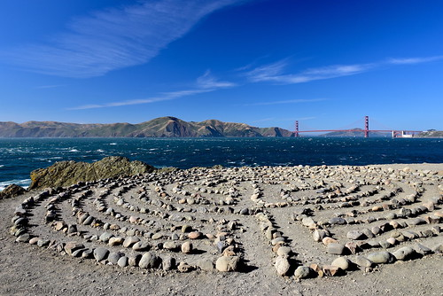 landsend labyrinth milerockbeach sanfrancisco seascape bay ngc bayarea wave ocean shore seaside coast california northerncalifornia westcoast pacificocean landscape outdoor clouds sky water rocks mountains rollinghills sea sand beach cliff nature meadows summer