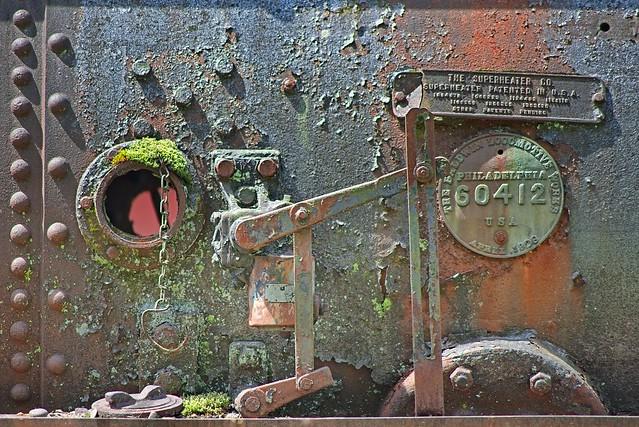 Rusting Train Engine 1356 A