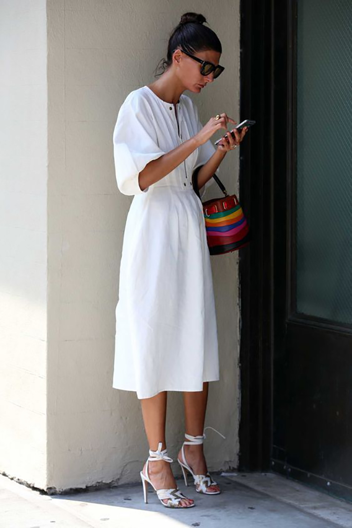 White outfits for summer 2017 street style outfits fashion trend accessories15