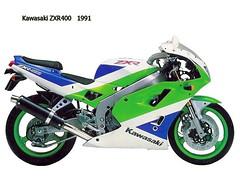 Kawasaki ZXR 400 R 1992 - 0