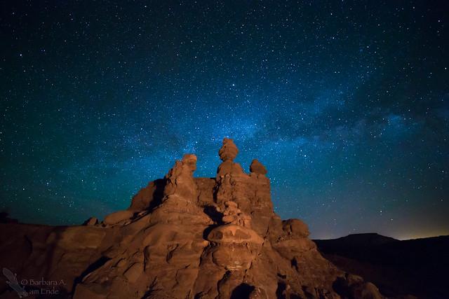 Hoodoo Milky Way