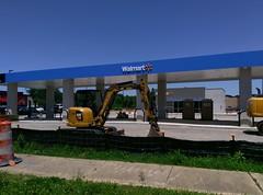 Olive Branch Walmart, new fuel center update