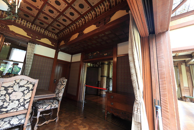 Photo:Japanese traditional style plus Western style mansion / 和洋折衷建築(わよう せっちゅう けんちく) By TANAKA Juuyoh (田中十洋)