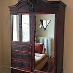 Dressing room armoire