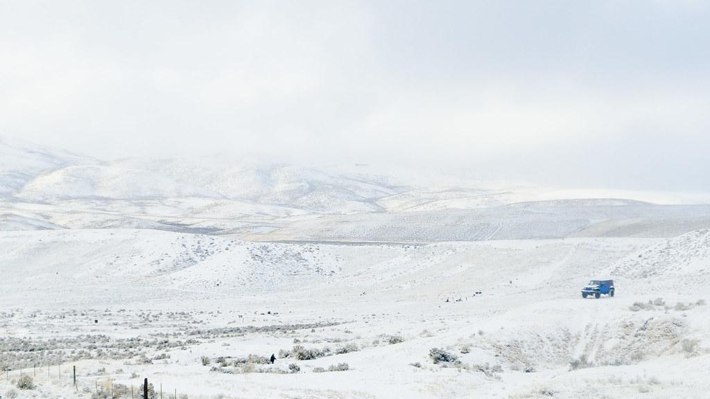Jeep + Snow