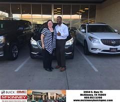 #HappyBirthday to Wilma from Joshua Lewis at McKinney Buick GMC!