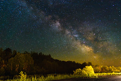 Milky Way Over an Abandoned Airstrip
