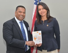 Rep. Gabbard at India Matters for America Launch