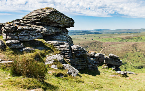 Birch Tor and Dartmoor landscape