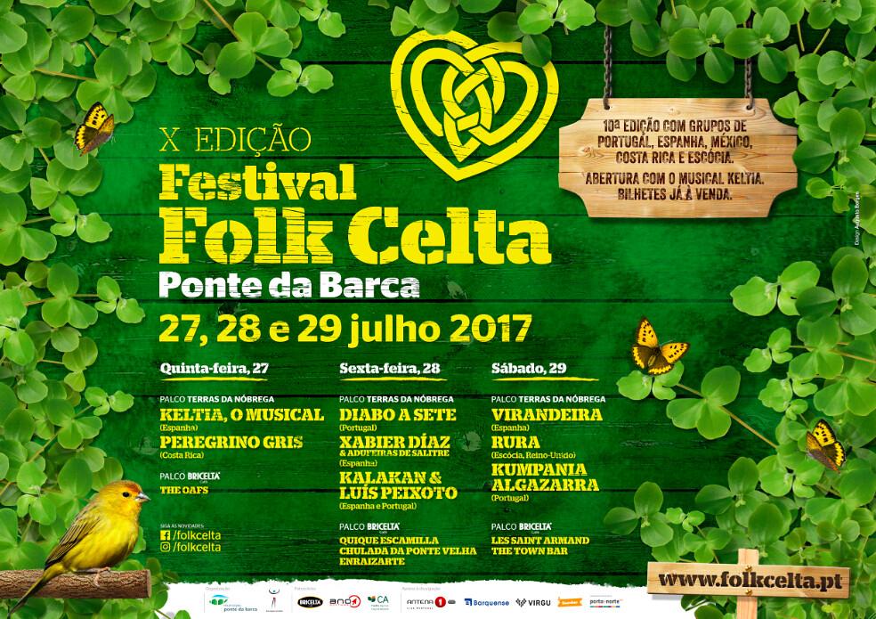 Cartaz Folk Celta 10ª Edição