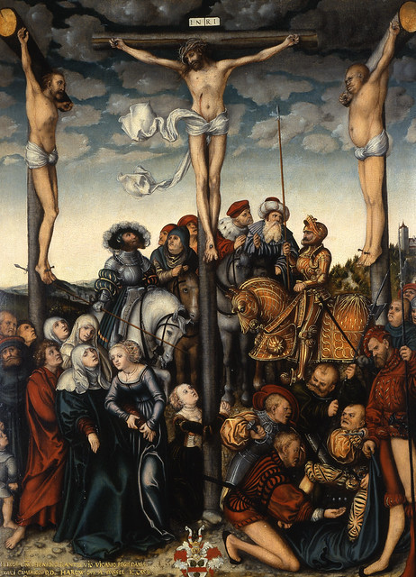 Lucas Cranach the Elder - The Crucifixion [1532]