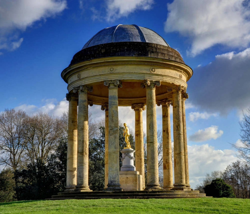 The Rotondo in Stowe Gardens. Credit Baz Richardson