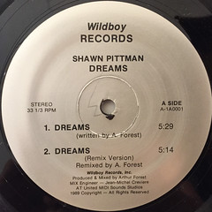 SHAWN PITTMAN:DREAMS(LABEL SIDE-A)