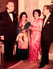 Ambassador to USA Aziz Ahmed with Ambassador to Netherlands Raana Liaquat, Governor Harriman and Shireen Aziz Ahmed, 1960