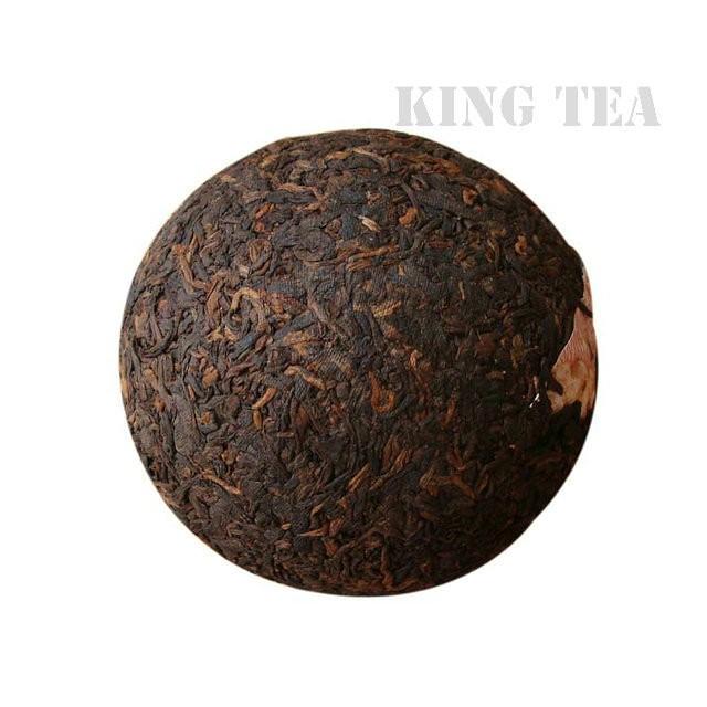 Free Shipping 2008 TAE TEA Dayi V93 Tuo Nest Bowl YunNan MengHai Organic Pu'er Puerh Ripe Cooked Tea Shou Cha