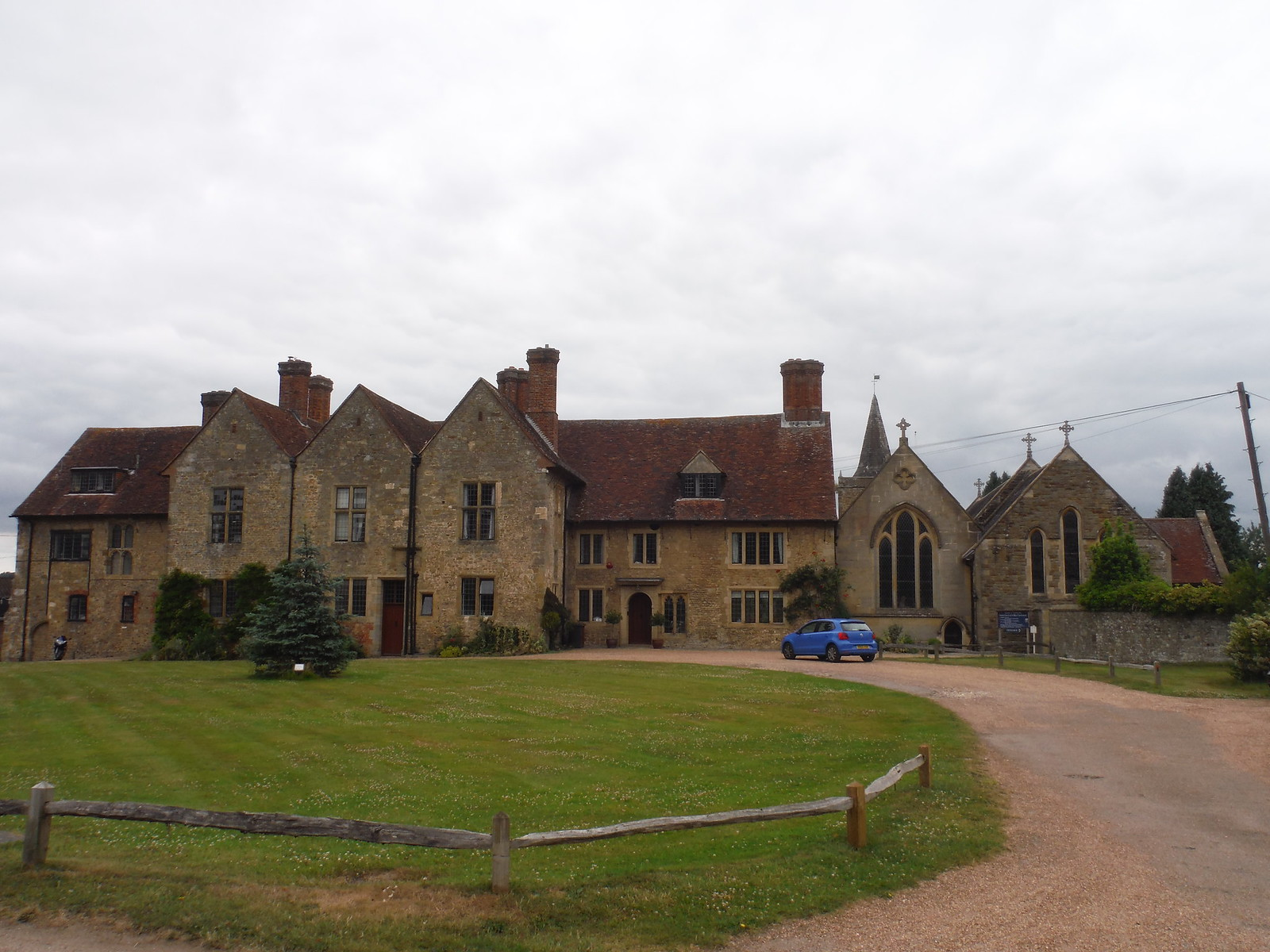 Easebourne Priory, Easebourne SWC Walk 218 Haslemere to Midhurst (The Midhurst Way)