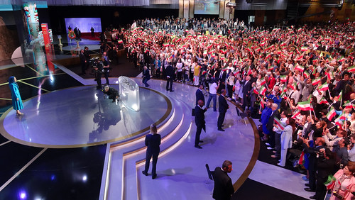 The huge crowd of freedom-loving Iranians in the grand gathering for a Free Iran-2