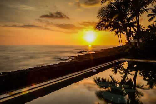 sunset hawaii bigisland iphoto kailuakona unitedstates us