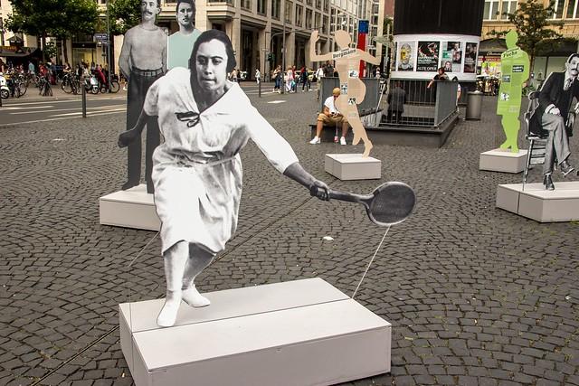Nelly Neppach (1891-1933) - Deutsche Tennismeisterin 1925 / Freitod nach der Machtergreifung `33