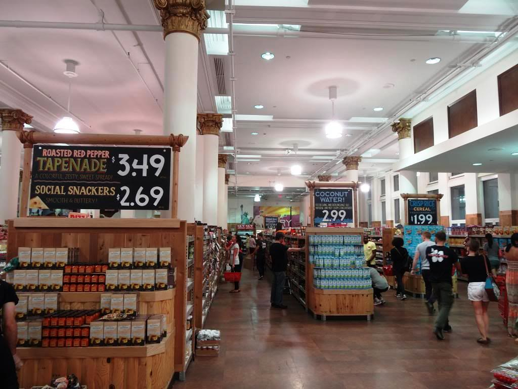 The flâneur New York City supermercados
